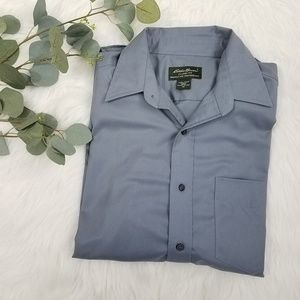 EDDIE BAUER Oxford Career Dress Shirt M
